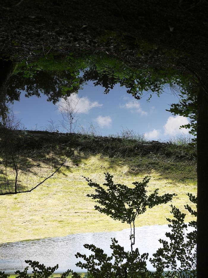 Quelque part dans le Limousin (upside down)